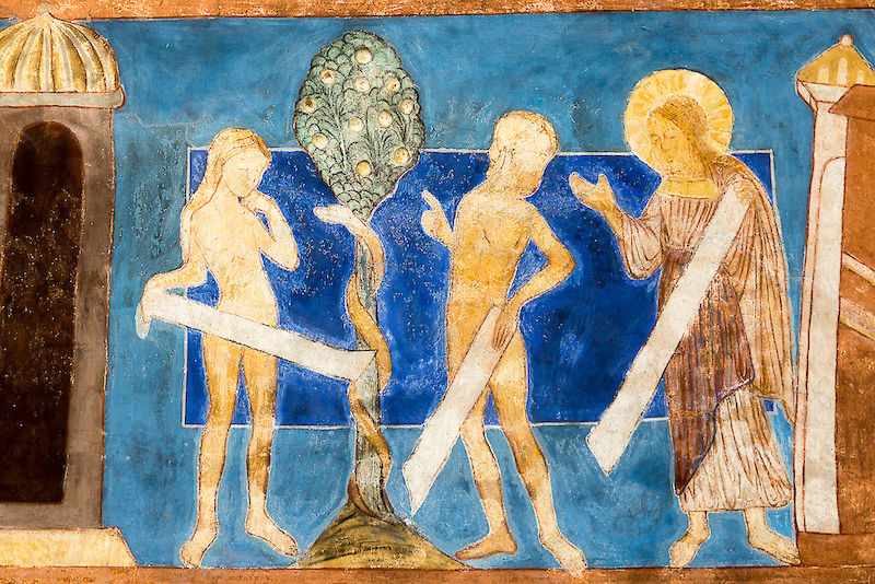 Were Adam and Eve – depicted here on a Roman wall painting – man and woman? In Hebrew and Aramaic scripture, cultural models of gender roles and sexuality are much more complex than commonly assumed.